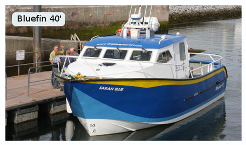 Sarah Ellie 40' Fishing boat